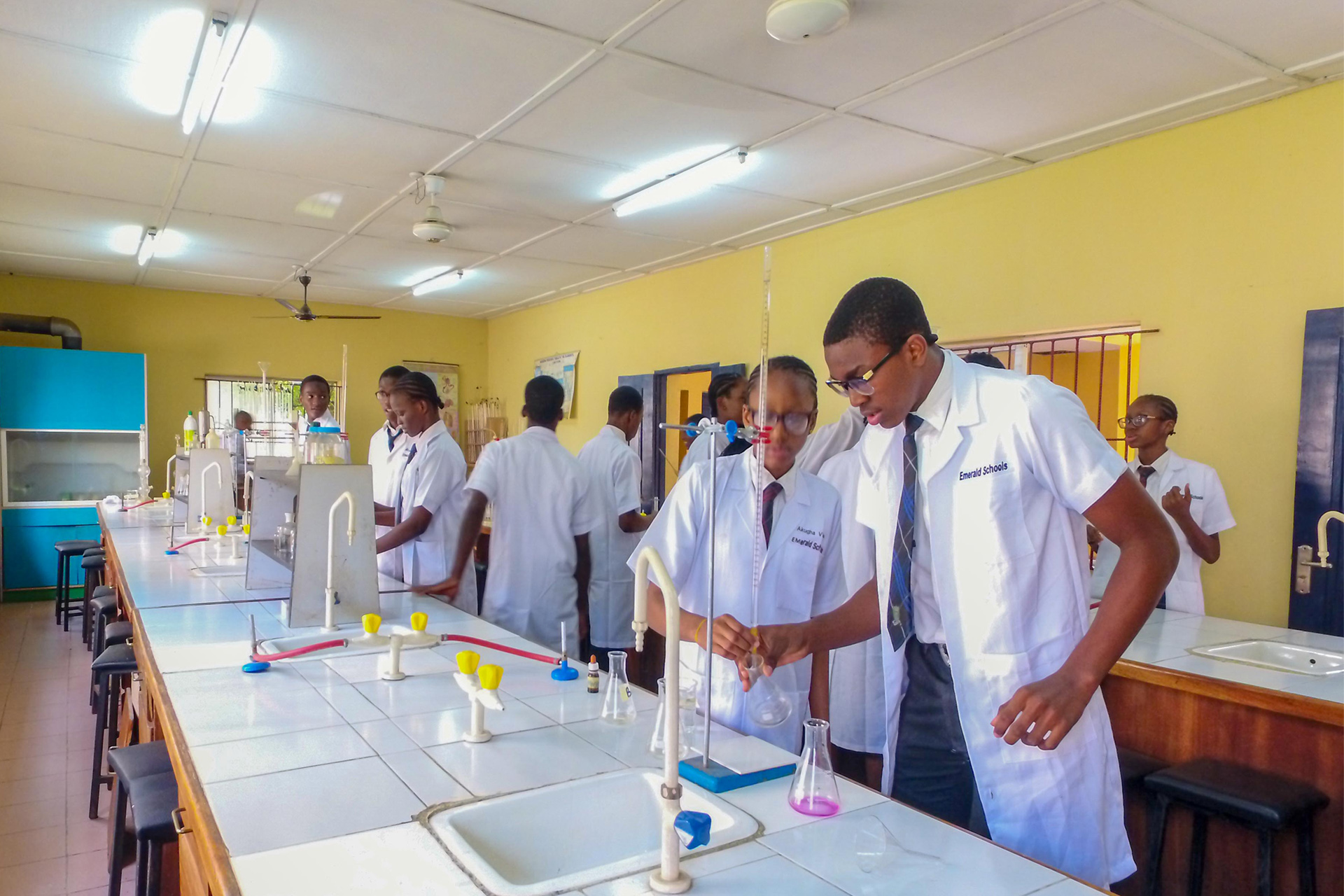 Chemistry Laboratory Emerald High School